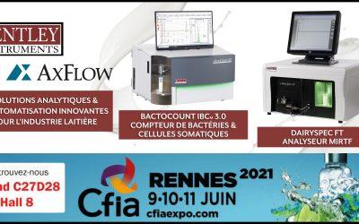 CFIA 2021 – Retrouvez-nous les 9, 10 et 11 juin 2021 au Parc des Expos de Rennes
